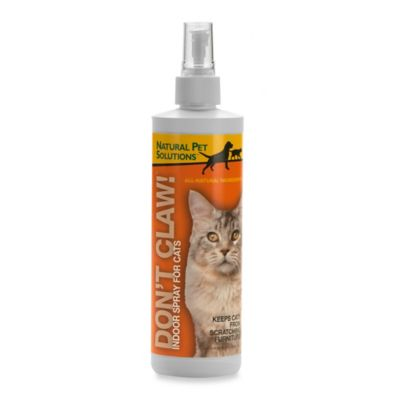 "Natural Pet™ Solutions ""Don't Claw!"" Cat Training Spray"
