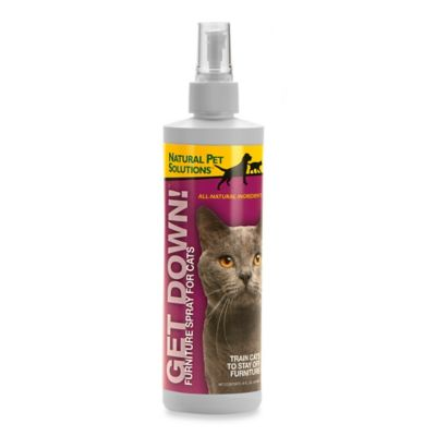 "Natural Pet™ Solutions ""Get Down Cat!"" Training Aid Spray"