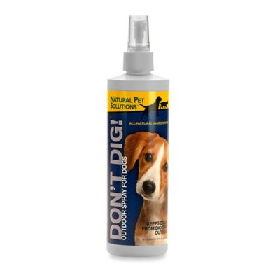 "Natural Pet™ Solutions Dog ""Don't Dig!"" Training Aid Spray"