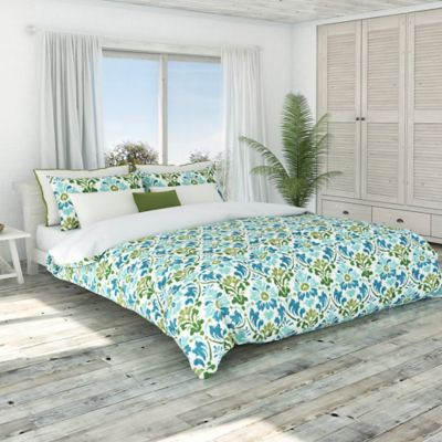 Colorfly™ Sasha Full/Queen Duvet Cover Set in Sea Moss