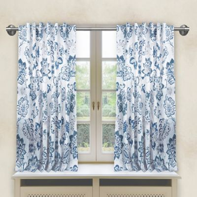 Avignon Window Curtain in Navy