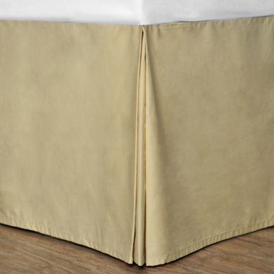 Cotton Dream Colors Twin Bed Skirt in Fig