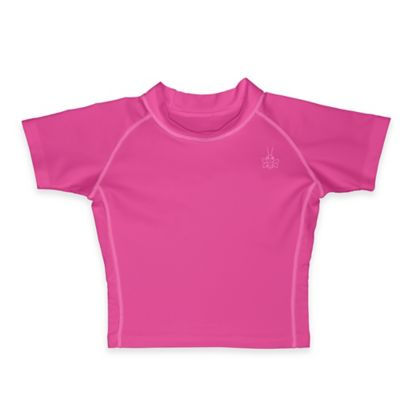 i play.® Size 4T Short Sleeve Rashguard in Pink