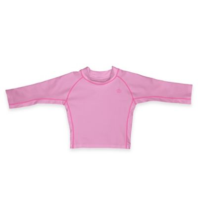 i play.® Size 4T Long Sleeve Rashguard Shirt in Pink