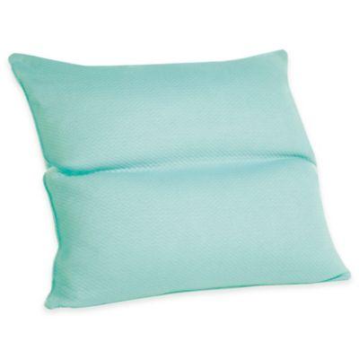 Joy Mangano MemoryCloud™ Reader Pillow in Teal