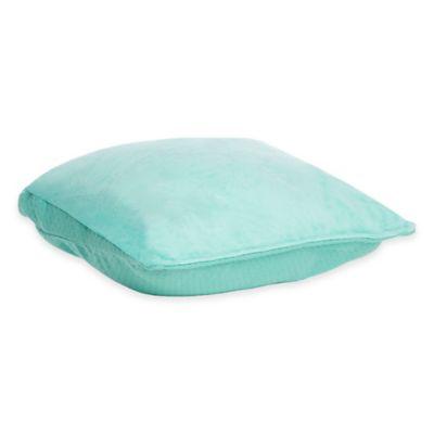 Joy Mangano Travel MemoryCloud™ Pillow in Teal