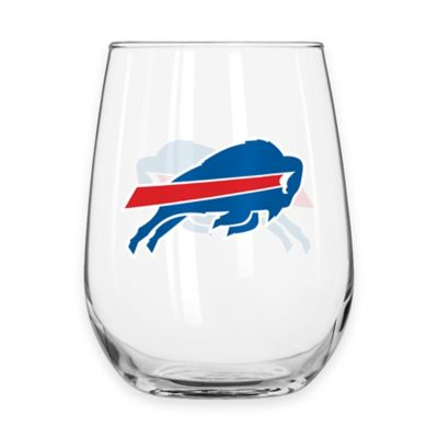 NFL Buffalo Bills Curved Beverage Glass