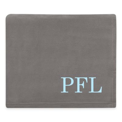 Grey Personalized Bedding