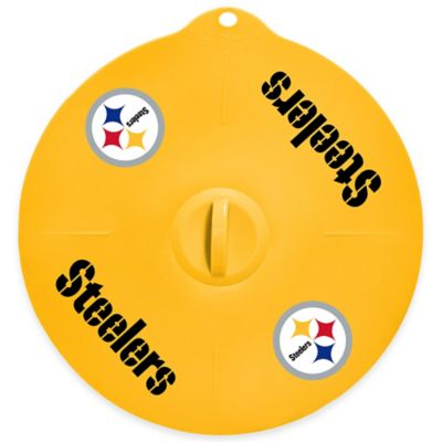 NFL Pittsburgh Steelers 9-Inch Silicone Lid