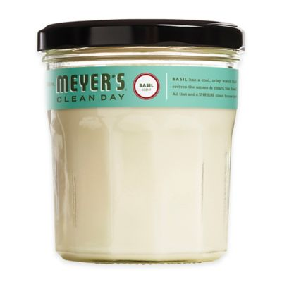 Mrs. Meyer's® Clean Day Basil Small Jar Candle