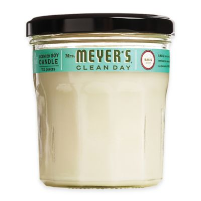 Mrs. Meyer's® Clean Day Basil Large Jar Candle