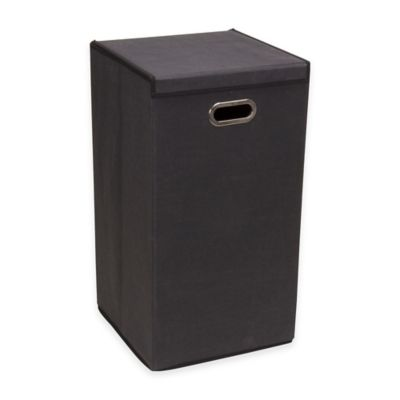 Household Essentials® Collapsible Laundry Hamper in Black