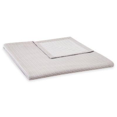 Liquid Cotton Full/Queen Blanket in Grey
