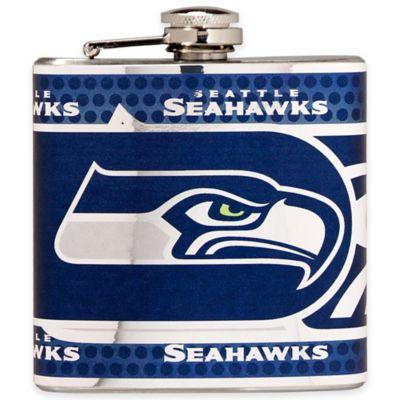 NFL Seattle Seahawks Stainless Steel Metallic Hip Flask