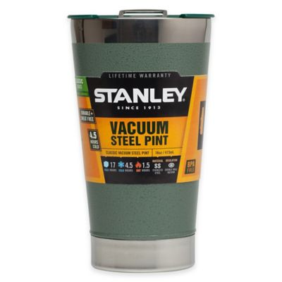 Stanley® Classic 16 oz. Vacuum Steel Pint Glass