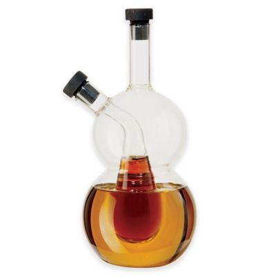 Oggi™ Double Bubble Oil and Vinegar Cruet