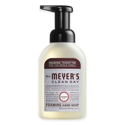 Mrs. Meyer's® Clean Day 10 oz. Lavender Foaming Hand Soap