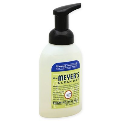 Mrs. Meyer's® Clean Day 10 oz. Lemon Verbena Foaming Hand Soap