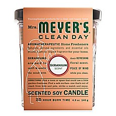 Mrs. Meyer's® Clean Day Geranium Small Jar Candle