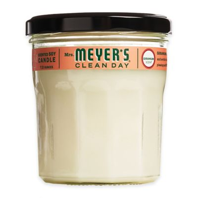 Mrs. Meyer's® Clean Day Geranium Large Jar Candle