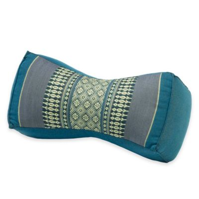 My Zen Home™ Bone Yoga Bolster Pillow in Aqua