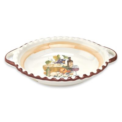 Lorren Home Trends Mona Lisa 19-Inch Scalloped Bowl
