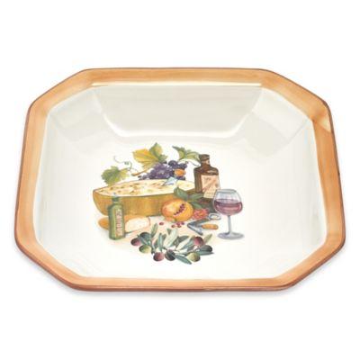 Lorren Home Trends Octagonal Platter