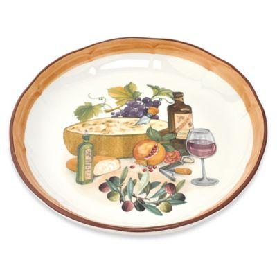 Lorren Home Trends Round Platter