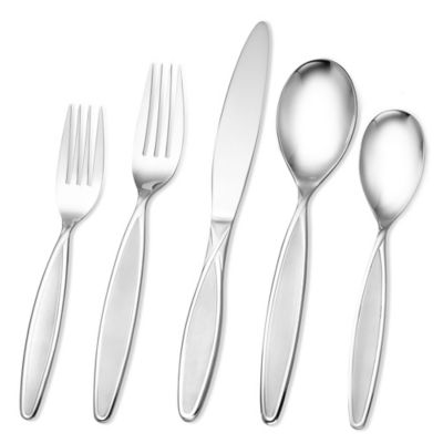 Hampton Forge Signature Elsa Frosted 20-Piece Flatware Set