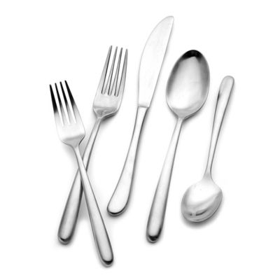 Hampton Forge Signature Slope 20-Piece Flatware Set