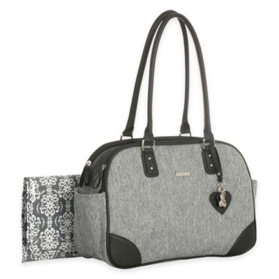 Grey Heather Diaper Bags