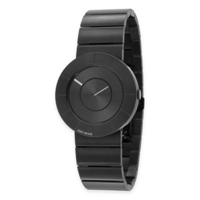 Issey Miyake TO Watch in Black Ion-Plated Stainless Steel