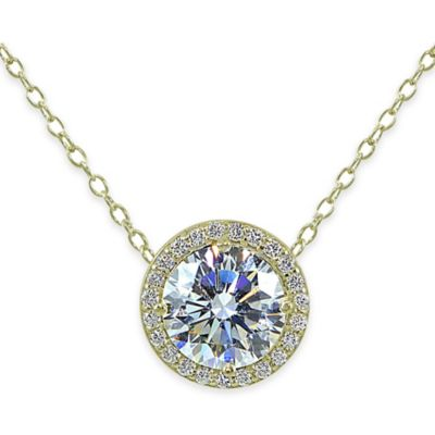 18K Pendant Necklace