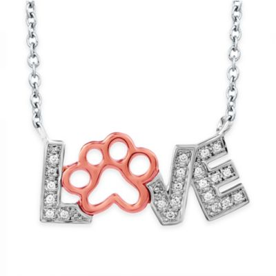 ASPCA Tender Voices Paw Pendant