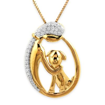 1/10 Cttw Diamond Pendant