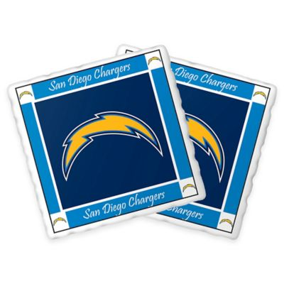 NFL San Diego Chargers Trivets (Set of 2)