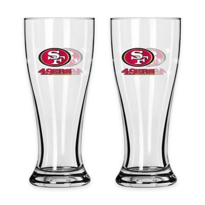 San Francisco 49ers Mini Pilsner Glass
