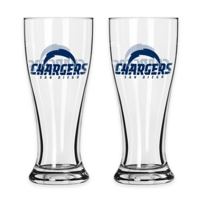 NFL San Diego Chargers Mini Pilsner Glass (Set of 2)