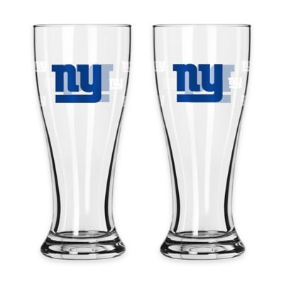 NFL New York Giants Mini Pilsner Glass (Set of 2)