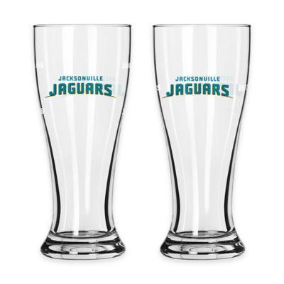 NFL Jacksonville Jaguars Mini Pilsner Glass (Set of 2)