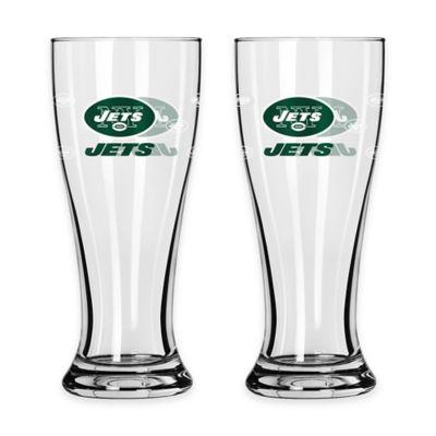 NFL New York Jets Mini Pilsner Glass (Set of 2)