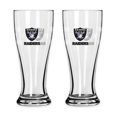 Oakland Raiders Mini Pilsner Glass