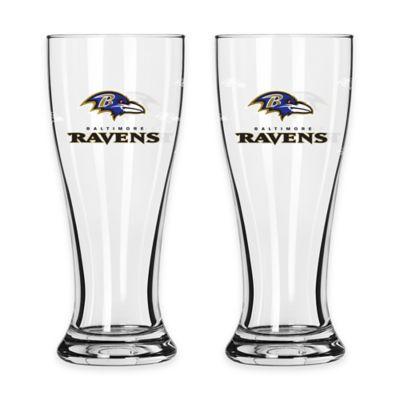 Baltimore Ravens Mini Pilsner Glass