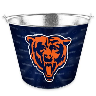 NFL Chicago Bears Metal Ice Bucket