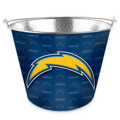 NFL San Diego Chargers Metal Ice Bucket