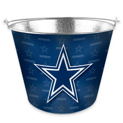 NFL Dallas Cowboys Metal Ice Bucket