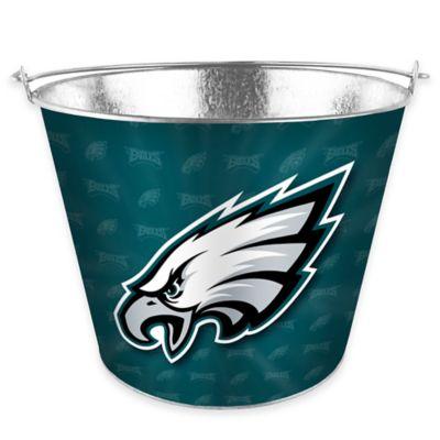NFL Philadelphia Eagles Metal Ice Bucket
