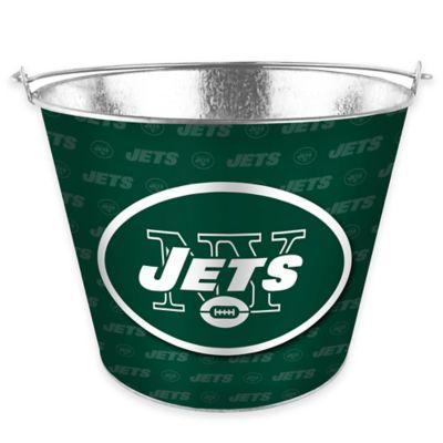NFL New York Jets Metal Ice Bucket