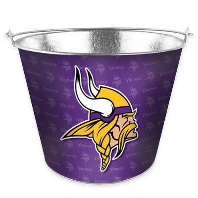 NFL Minnesota Vikings Metal Ice Bucket