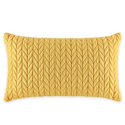 J by J. Queen New York Camden Boudoir Throw Pillow in Banana